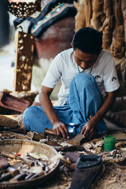 Aung Nan Myanmar Handicrafts workshop
