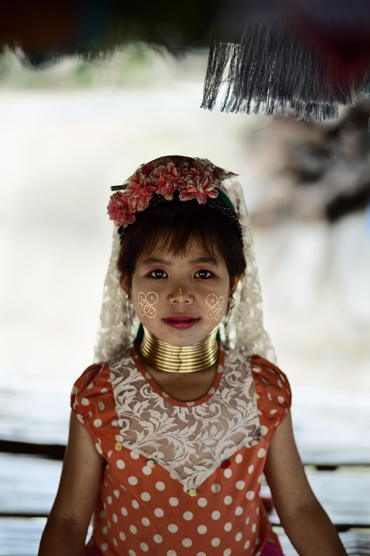 Girl of the Kayan village