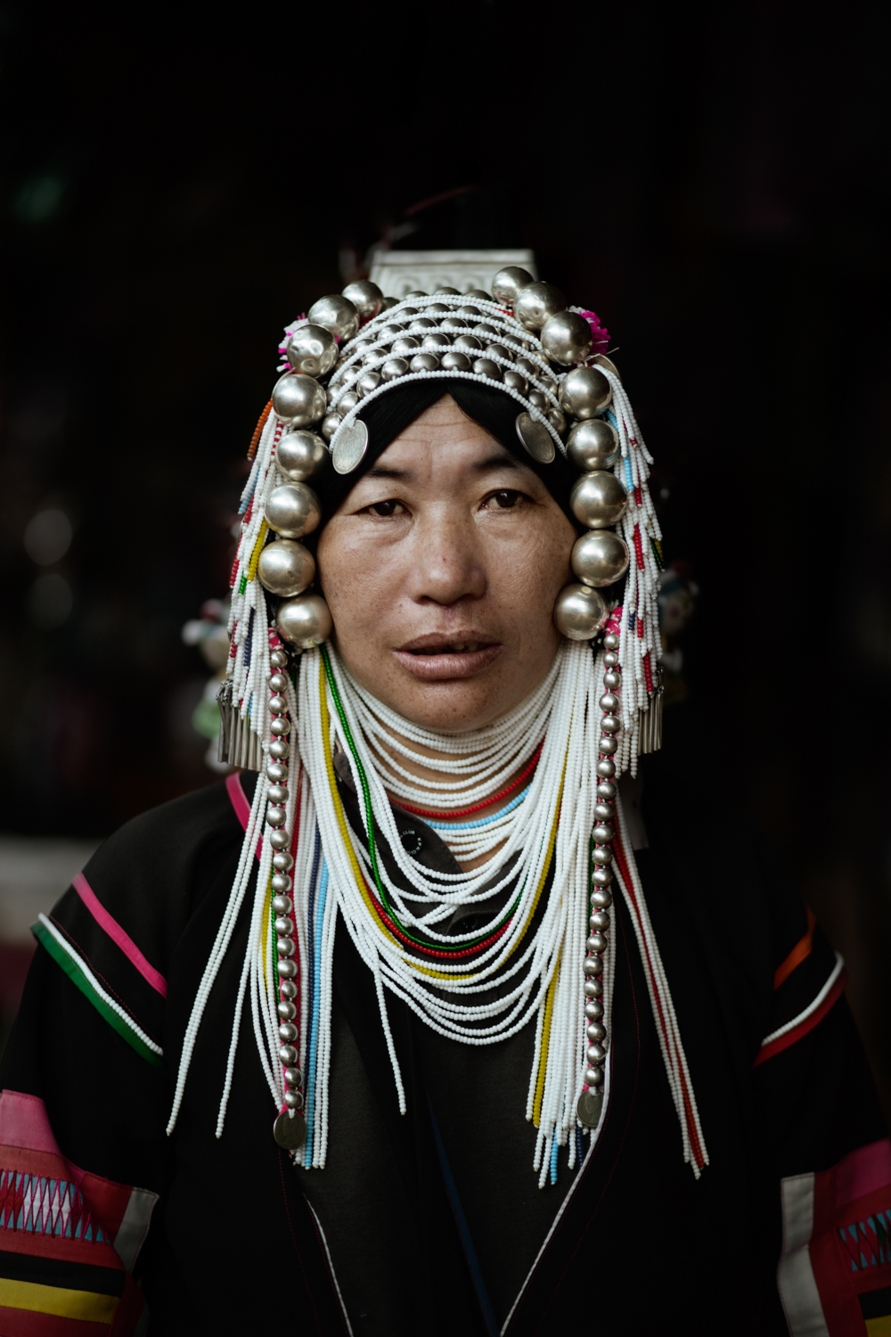 Woman of the Akha tribe