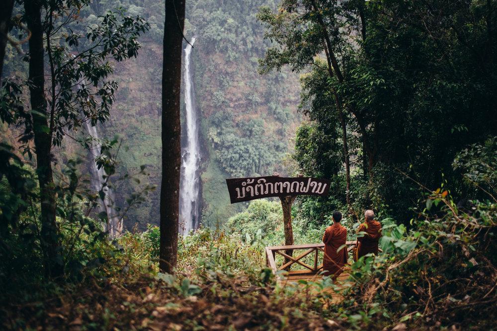 Tad Fan waterfalls