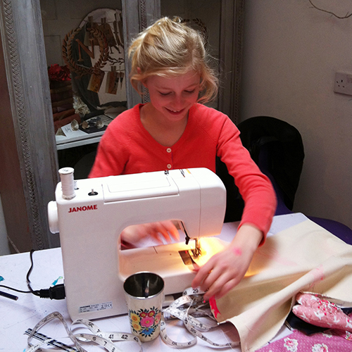 kids sewing lessons london