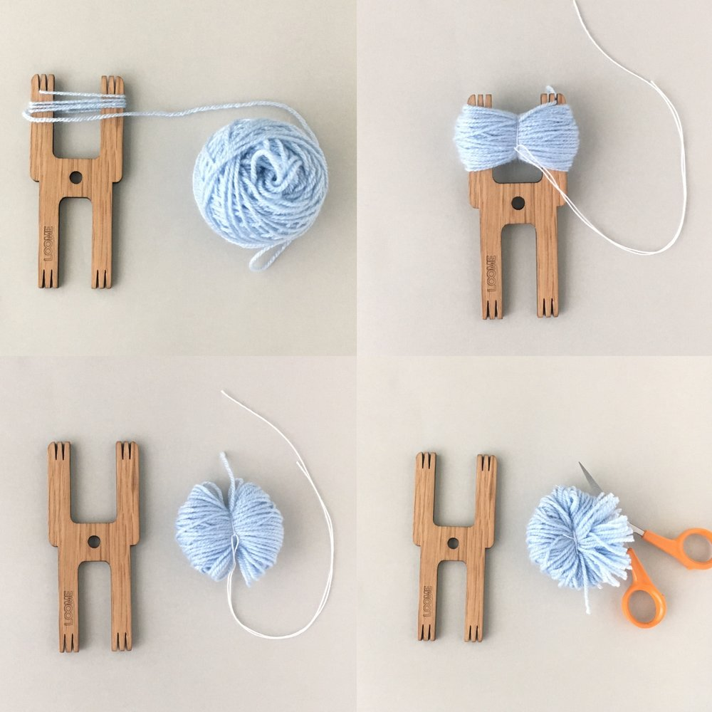 how to make a pom-pom