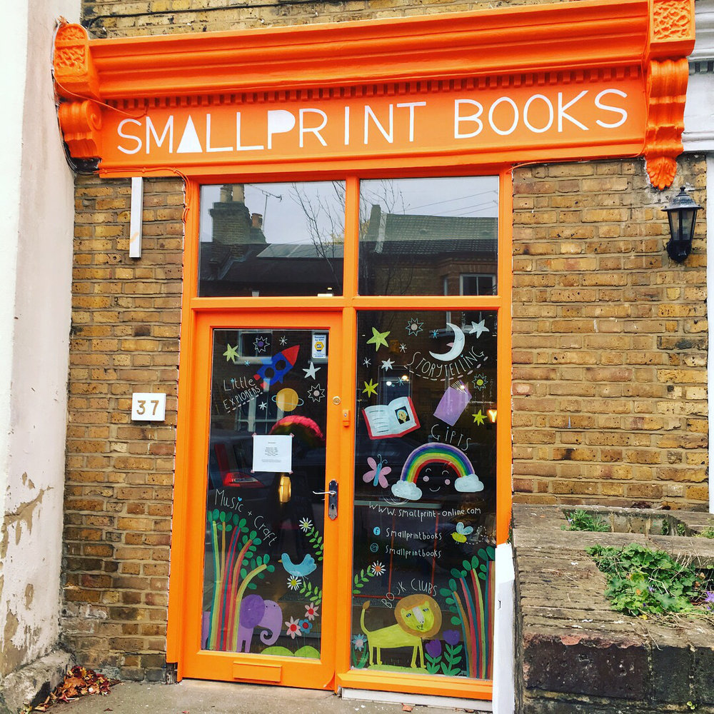 smallprint books in forest hill