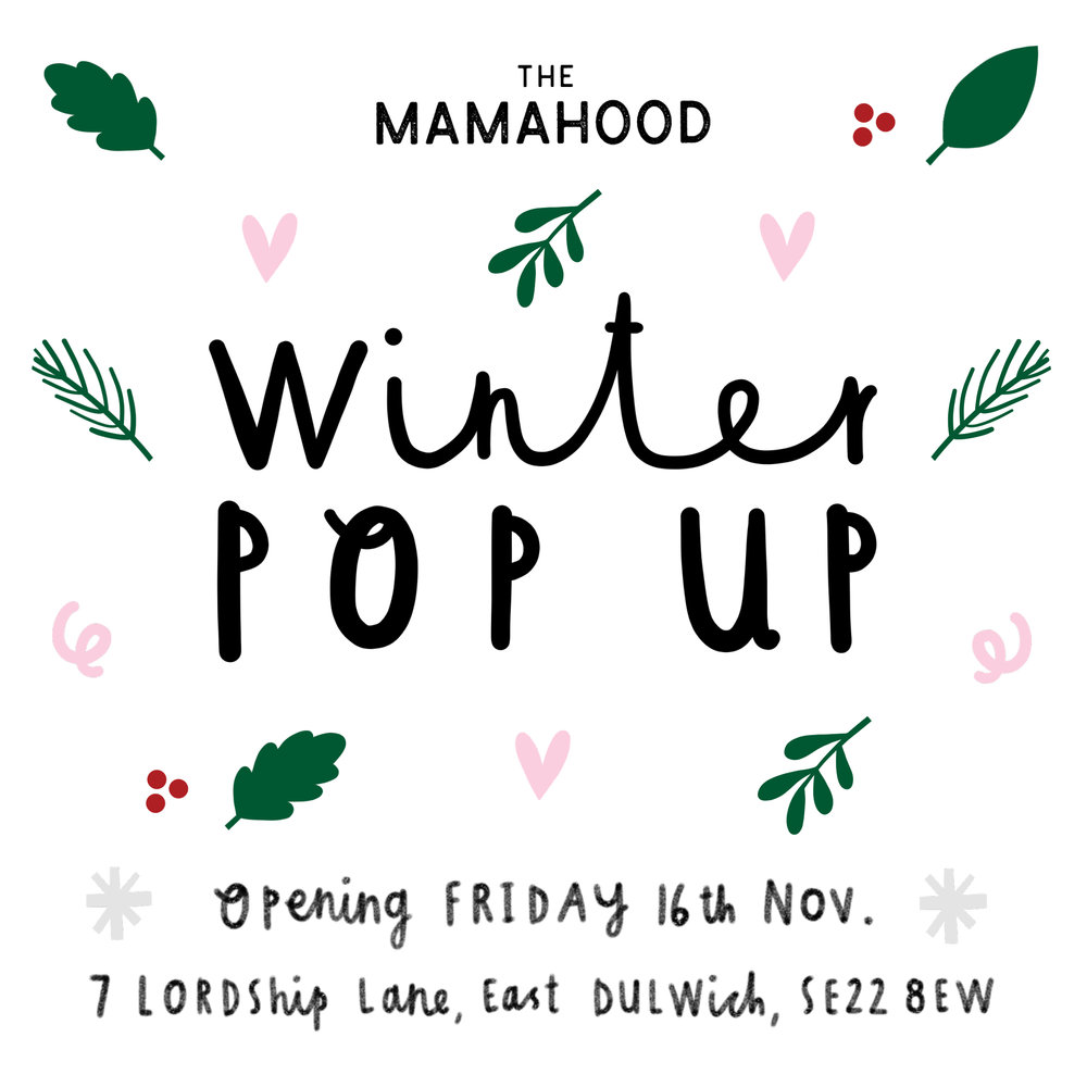 mamahood pop-up east dulwich