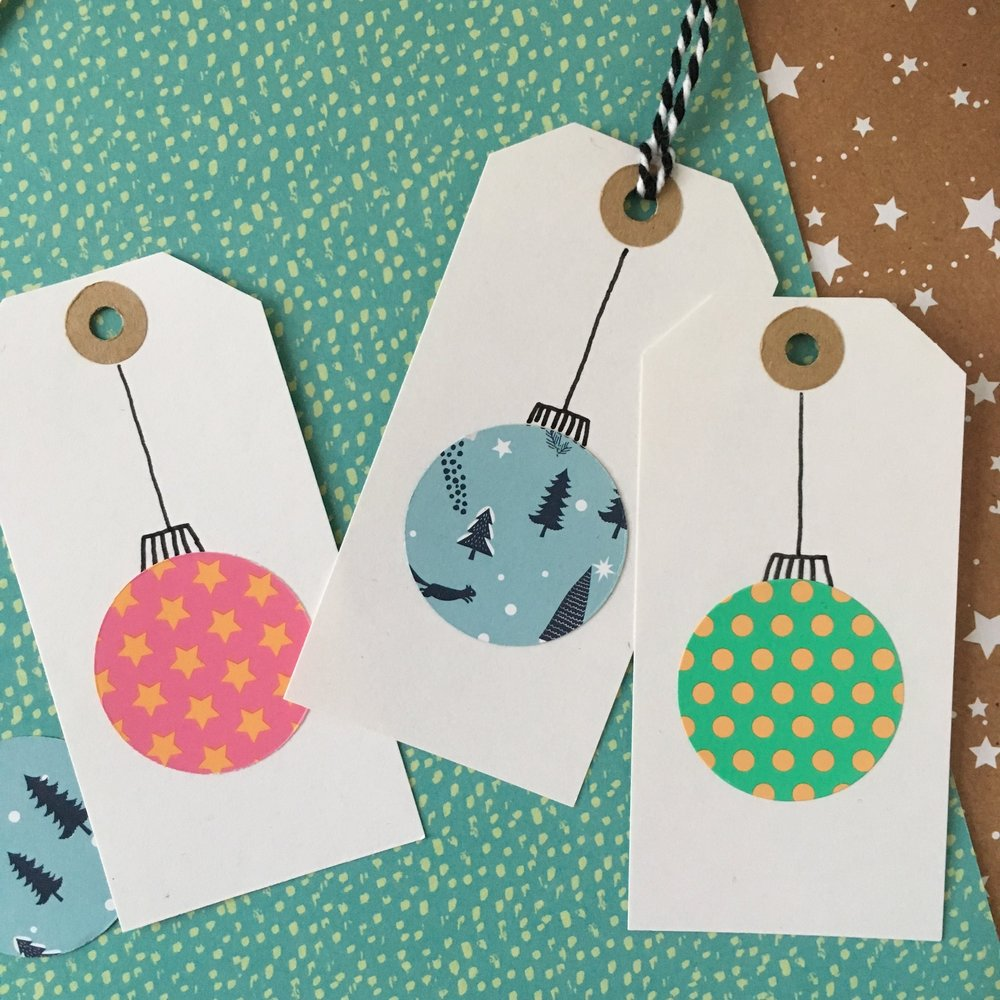 christmas gift tag diy
