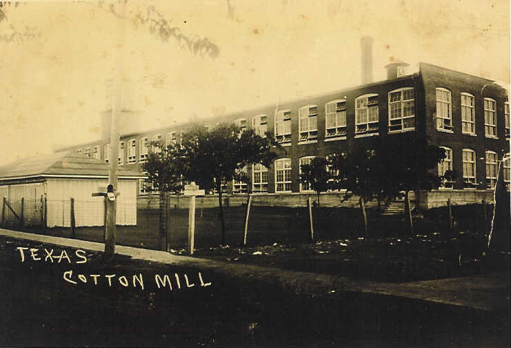 McKinney was one of three locations of the Texas Cotton Mills