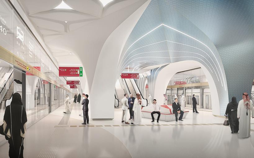 Doha metro Red Line South Qatar Tryphon Foteinopoulos Portfolio