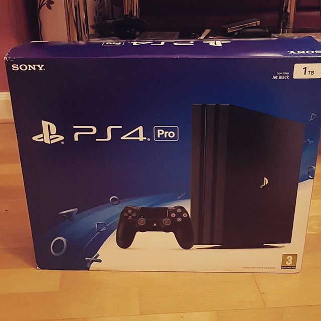 I managed to win a PS4 Pro at my work's Christmas Party. Beyond happy right now.