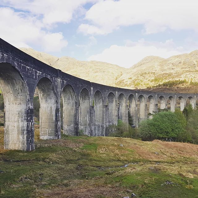 At the Harry Potter viaduct!