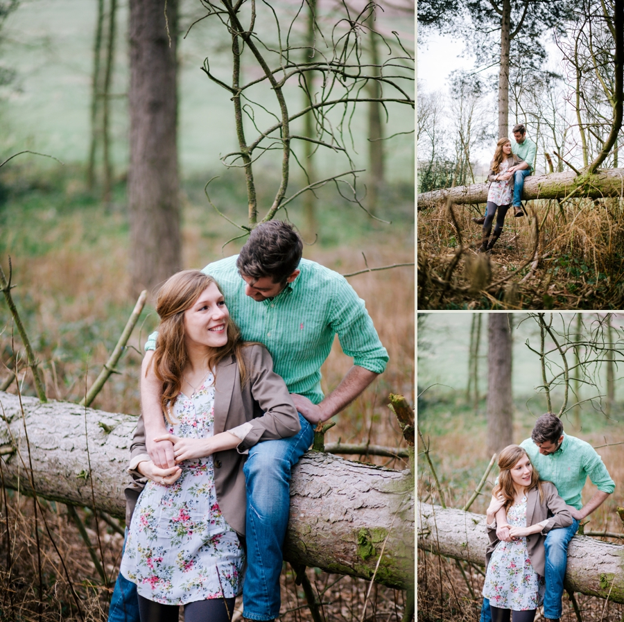 Somerset wedding photographer Emily and Lee engagement shoot 3