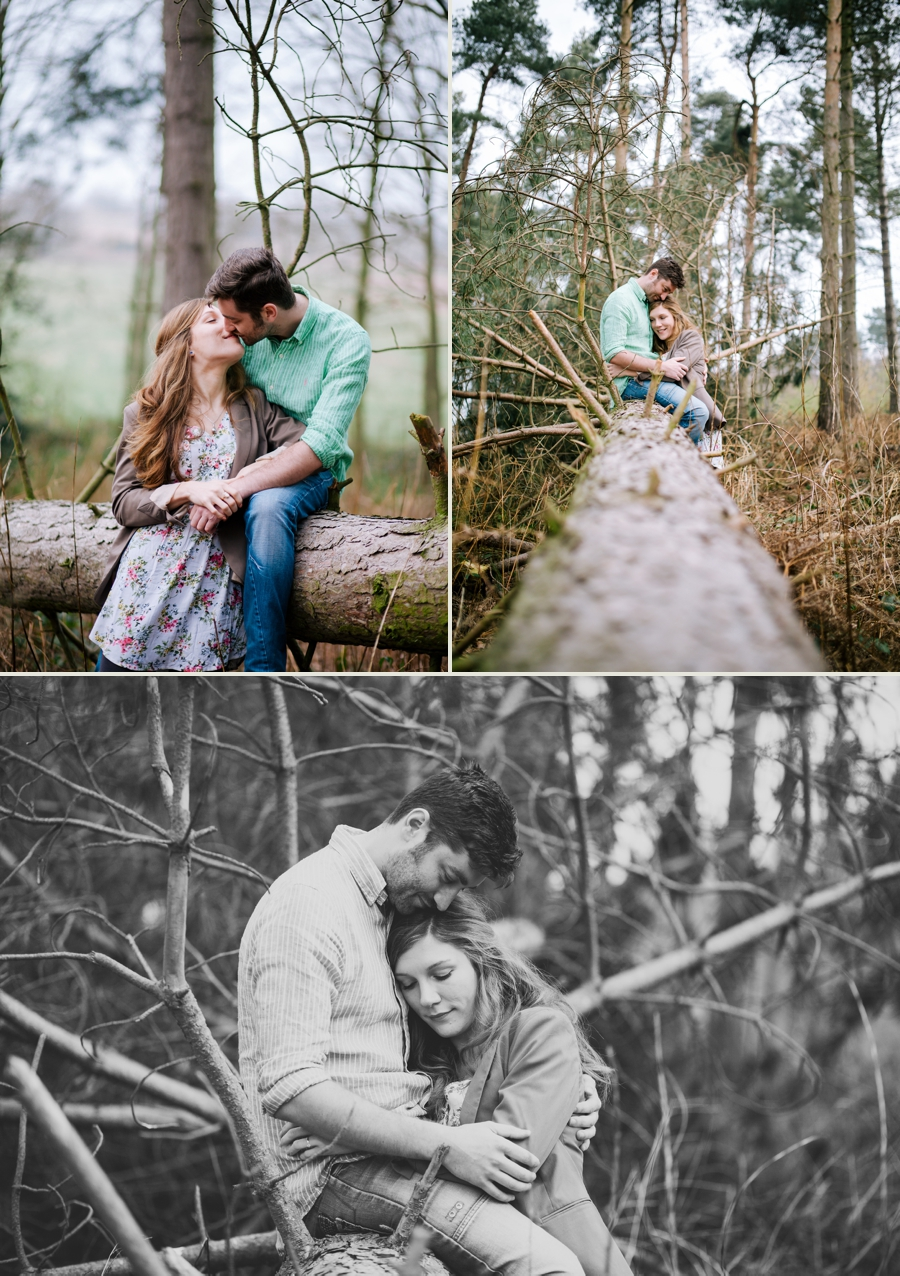 Somerset wedding photographer Emily and Lee engagement shoot 4