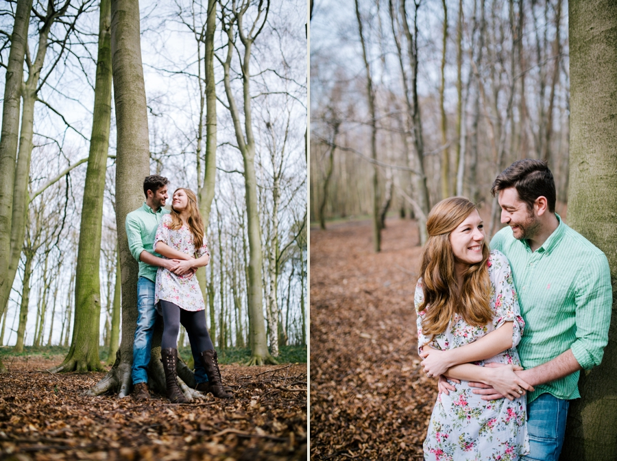 Somerset wedding photographer Emily and Lee engagement shoot 9