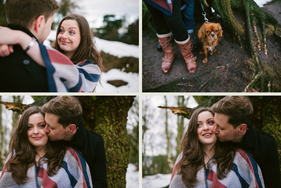 Somerset wedding photographer Sam and Pete engagement shoot 5