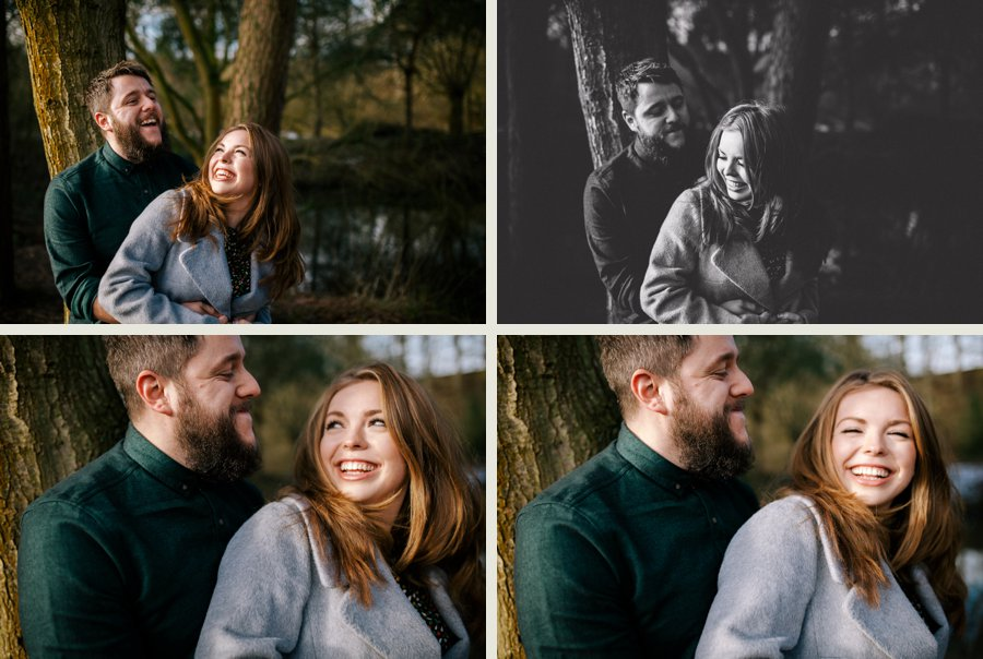 Somerset wedding photographer Lucy and Lee engagement shoot 1