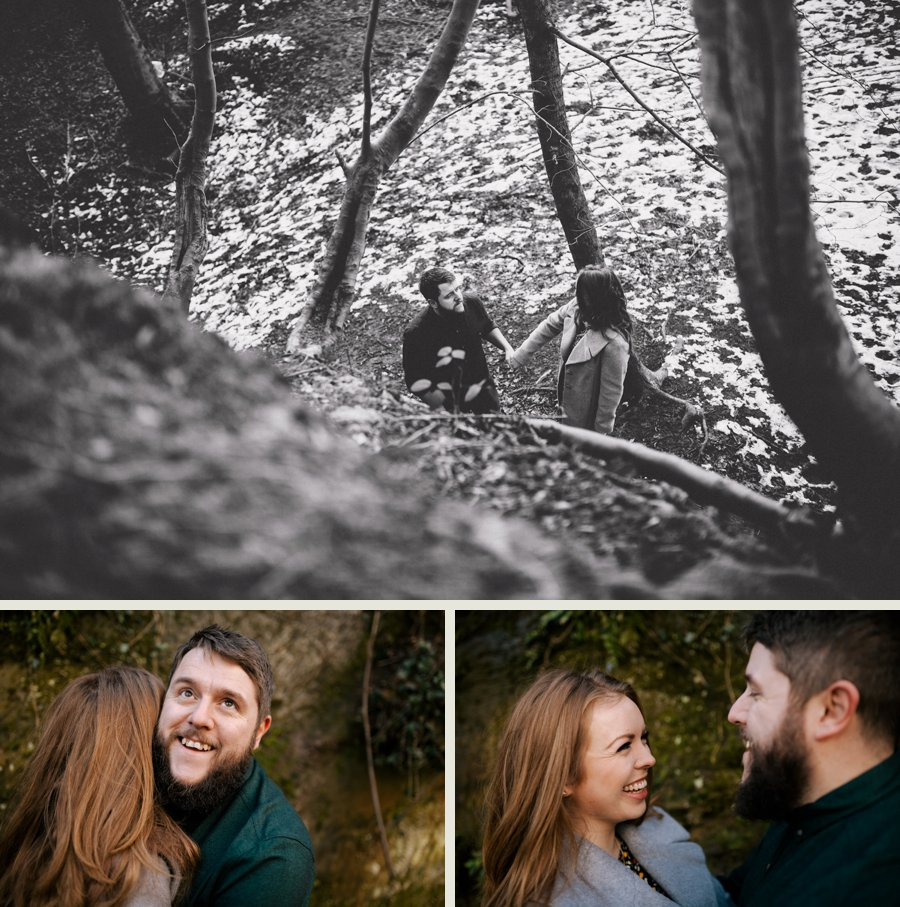 Somerset wedding photographer Lucy and Lee engagement shoot 7