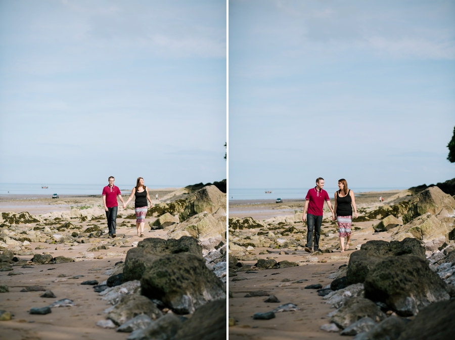 Somerset wedding photographer Gower coast engagement shoot Sarah and Andrew 6