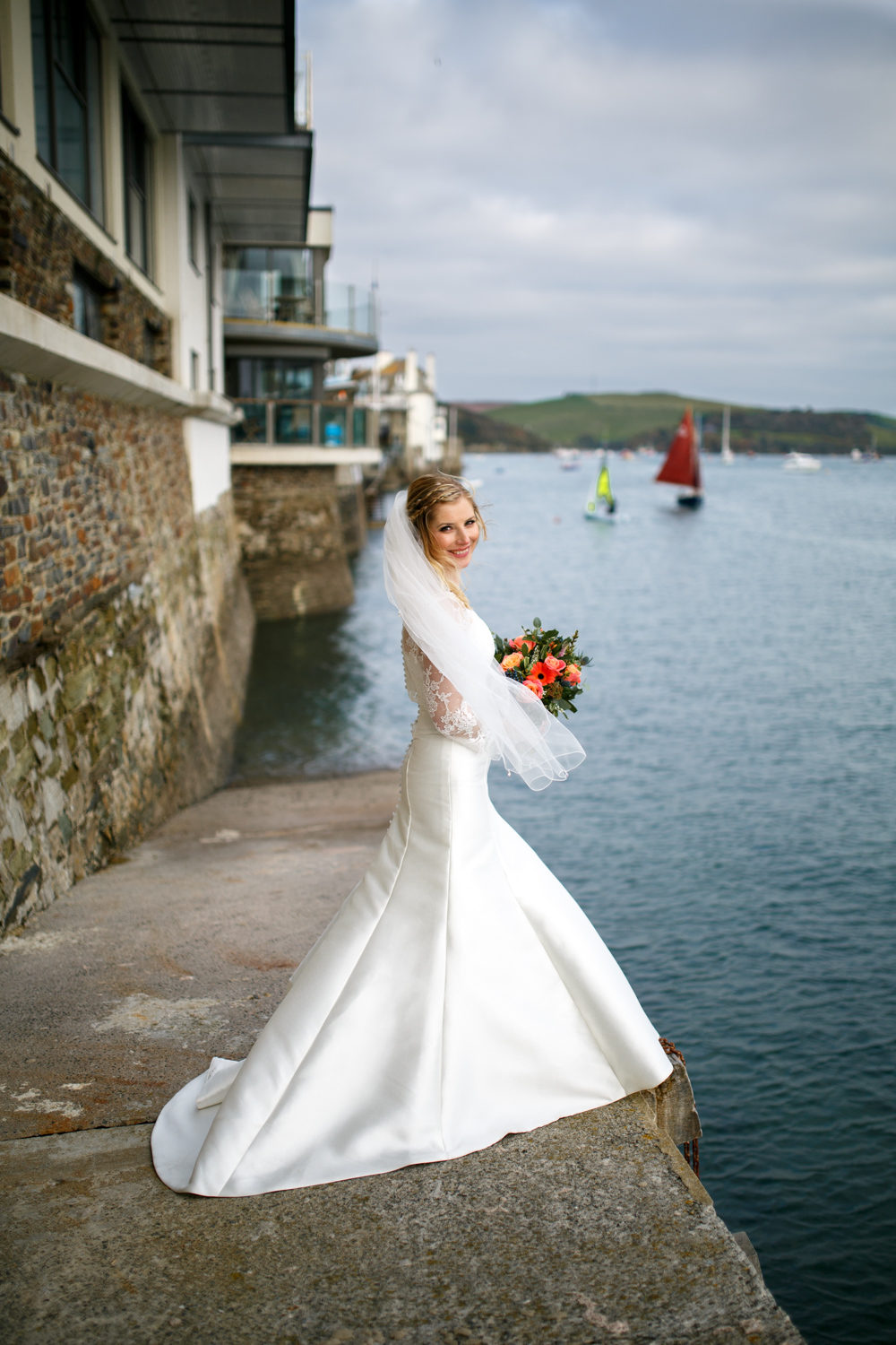 Salcombe Wedding Photographer Heather & Dale 2