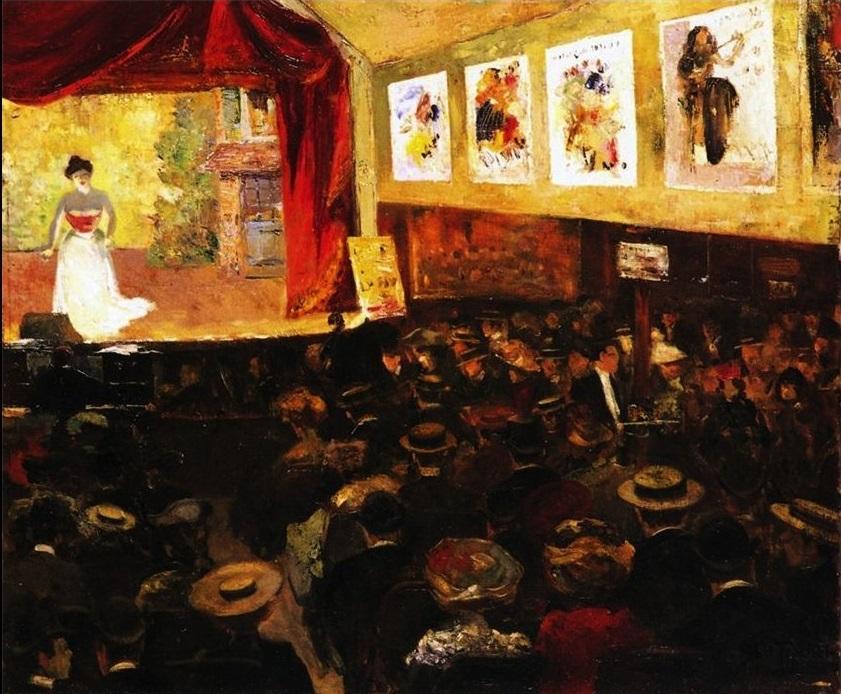 Louis Abel-Truchet - The cafe concert - 1904