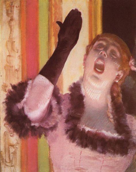 Edgar Degas - Chanteuse de Café