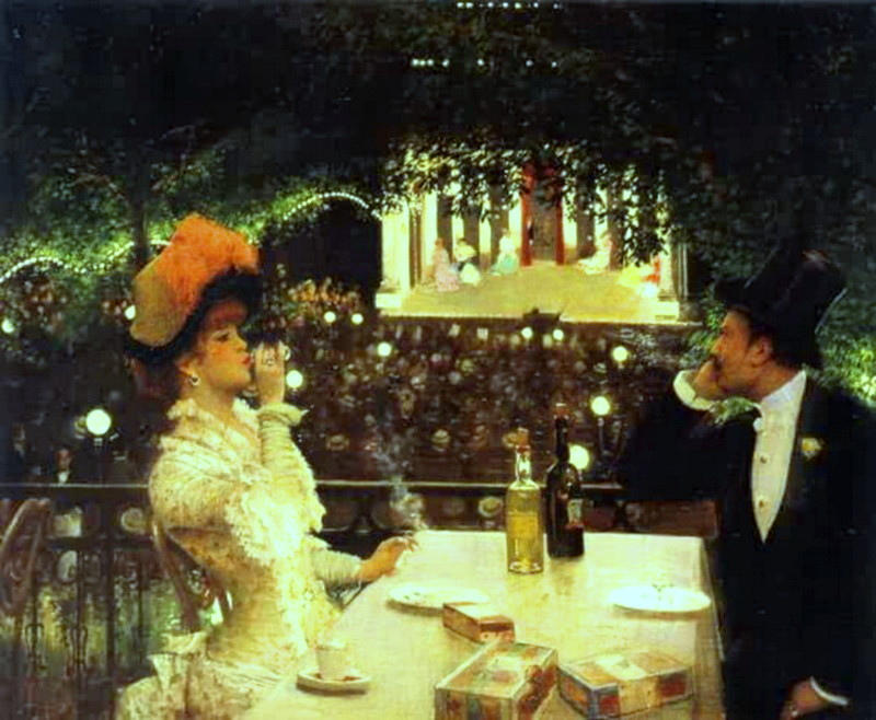 Jean Georges Beraud - In-Cafe Chantant - Les Ambassadeurs