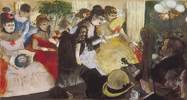 Edgar Degas - Cafe Concert