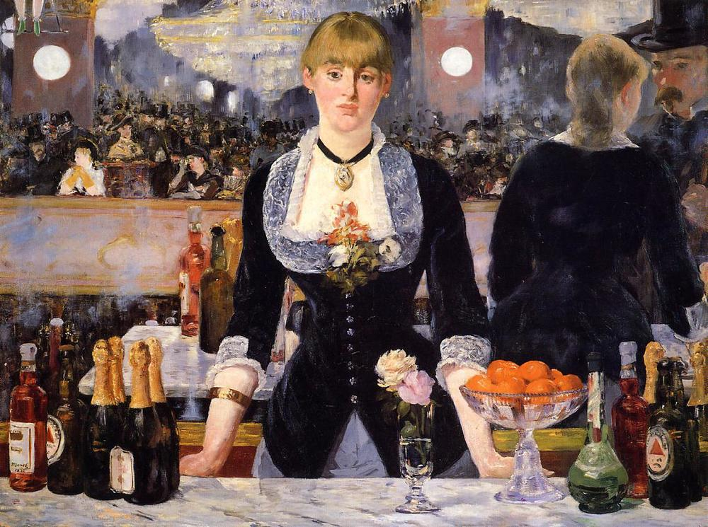 Manet - Bar in the Folies Bergere