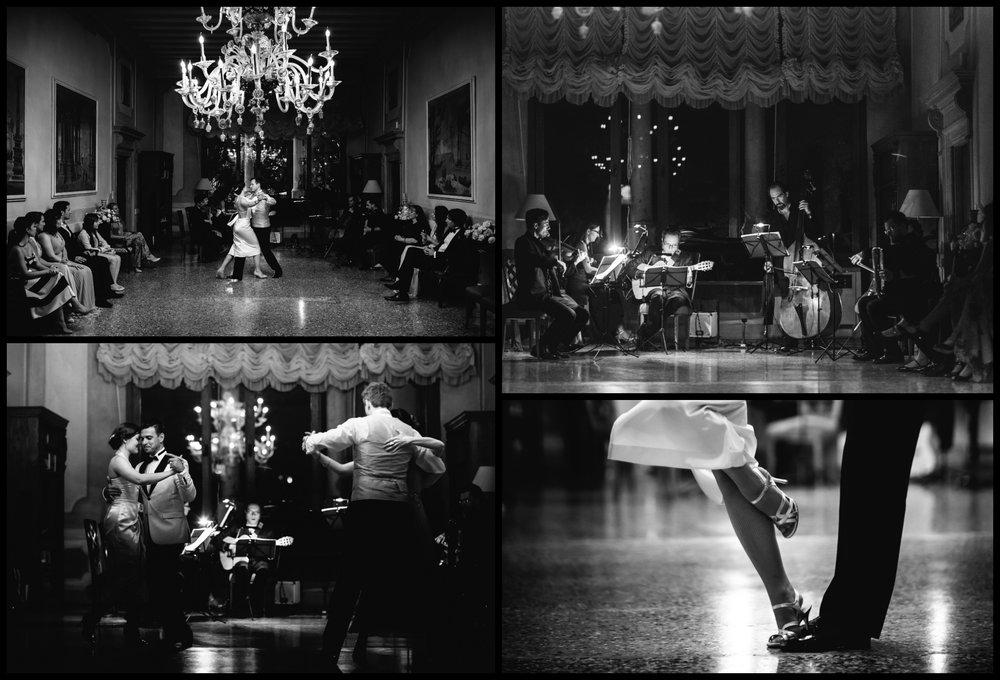 LA FÊTE GALANTE - Il pubblico, accompagnato da valzer, tanghi, milonghe e altri balli, è immerso in una festosa serata dedicata alle danze.