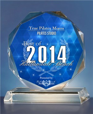 Winner! 2014 Best of Hallandale Beach- Pilates Studio.