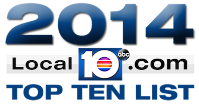 2014 Local 10 Top Ten- Pilates Studio. 4th Place
