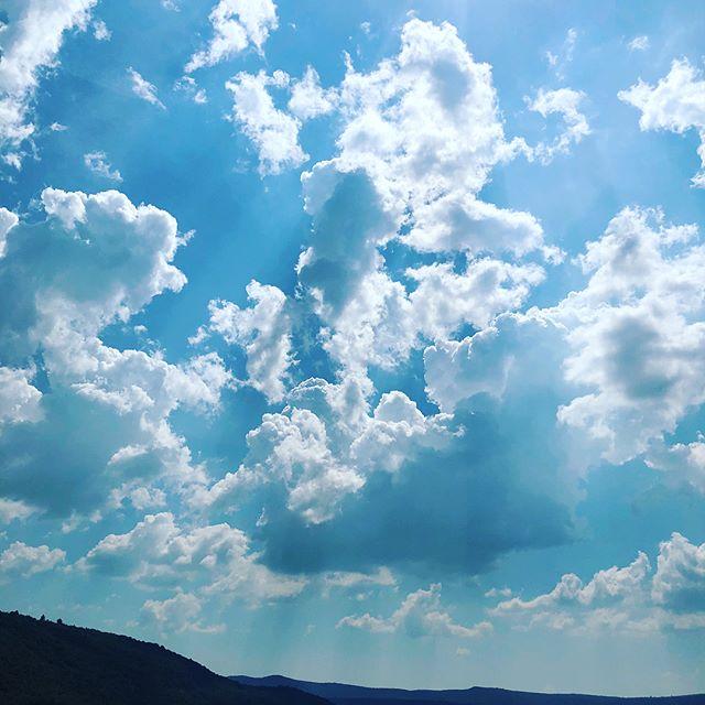 Sainte-Croix-du-Verdon #southoffrance #sky #justbeautiful