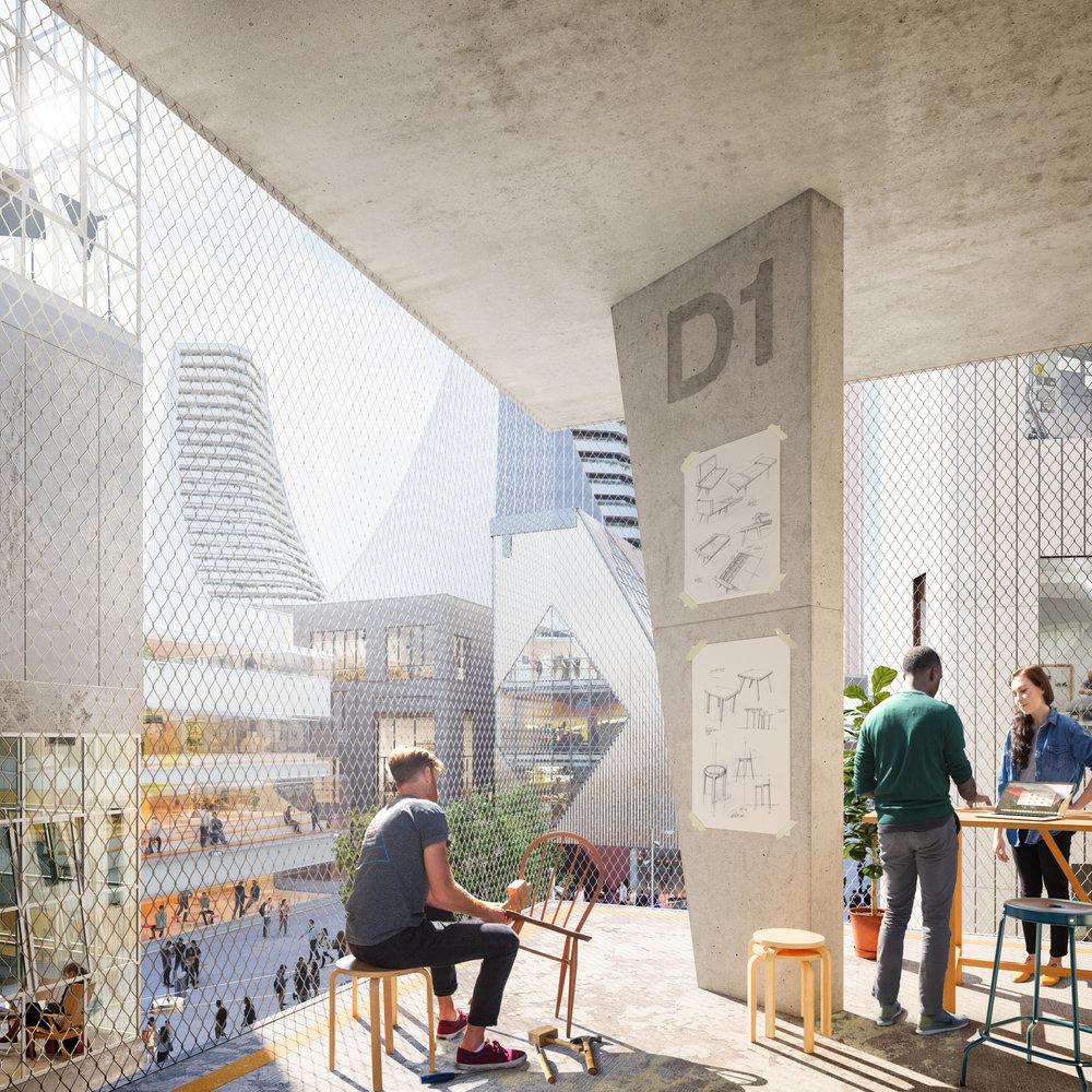 The Design District_Indoor - Outdoor studio space_Greenwich Peninsula ©Knight Dragon.jpg