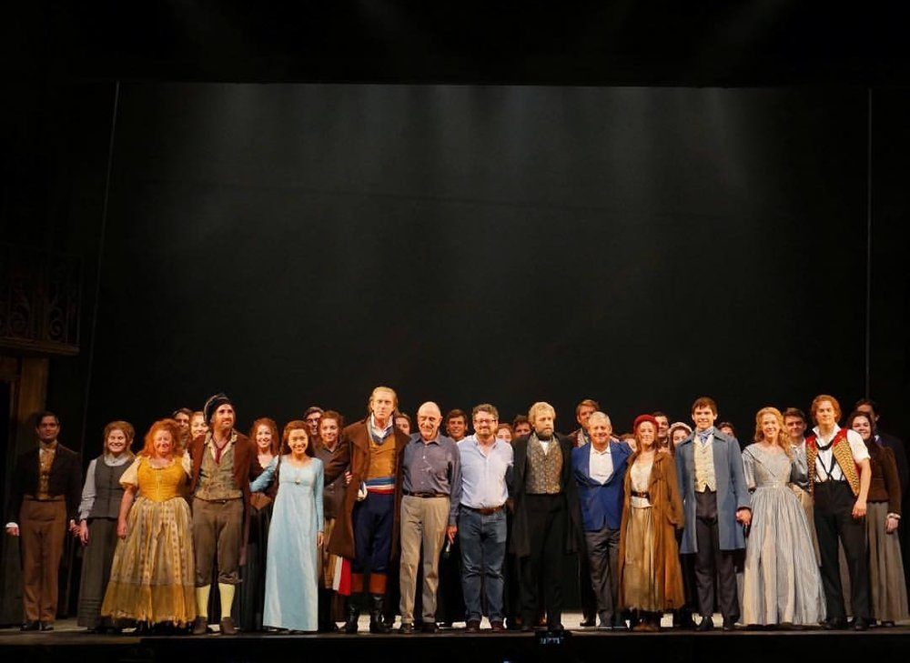 Les Misérables with Sir Cameron Mackintosh and M Claude-Michel Schönberg