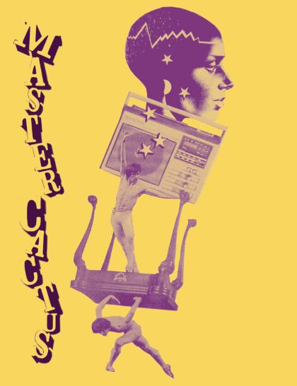 cassette tape/poster design, 2013