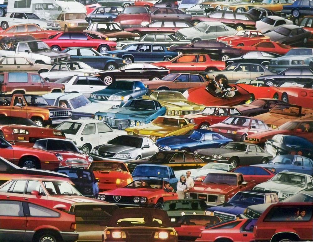 100 cars, 2013