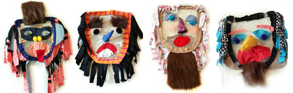 processional masks,2015