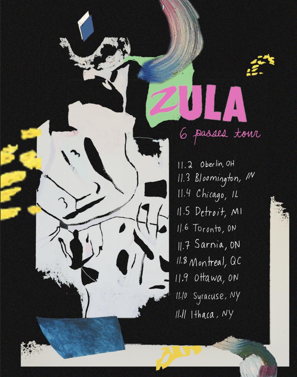 tour poster, 2017
