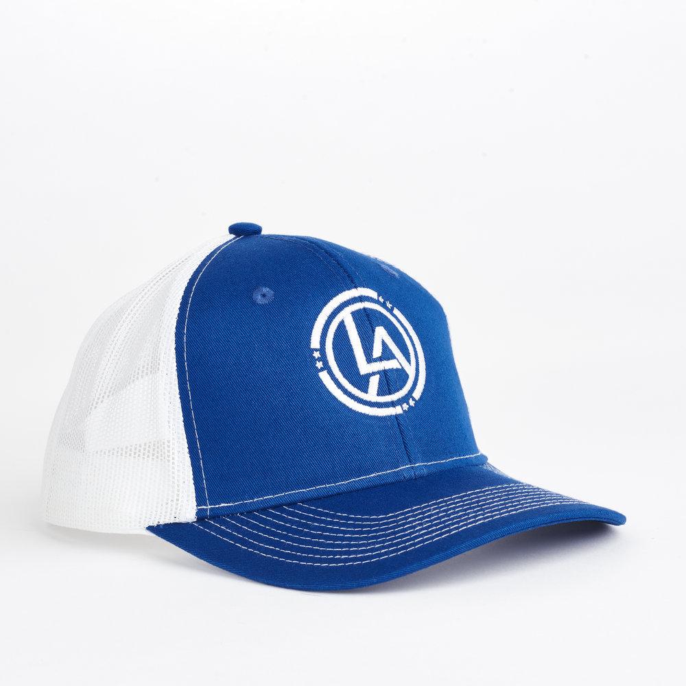 Lyn Avenue Trucker Hat - BlWh.jpg