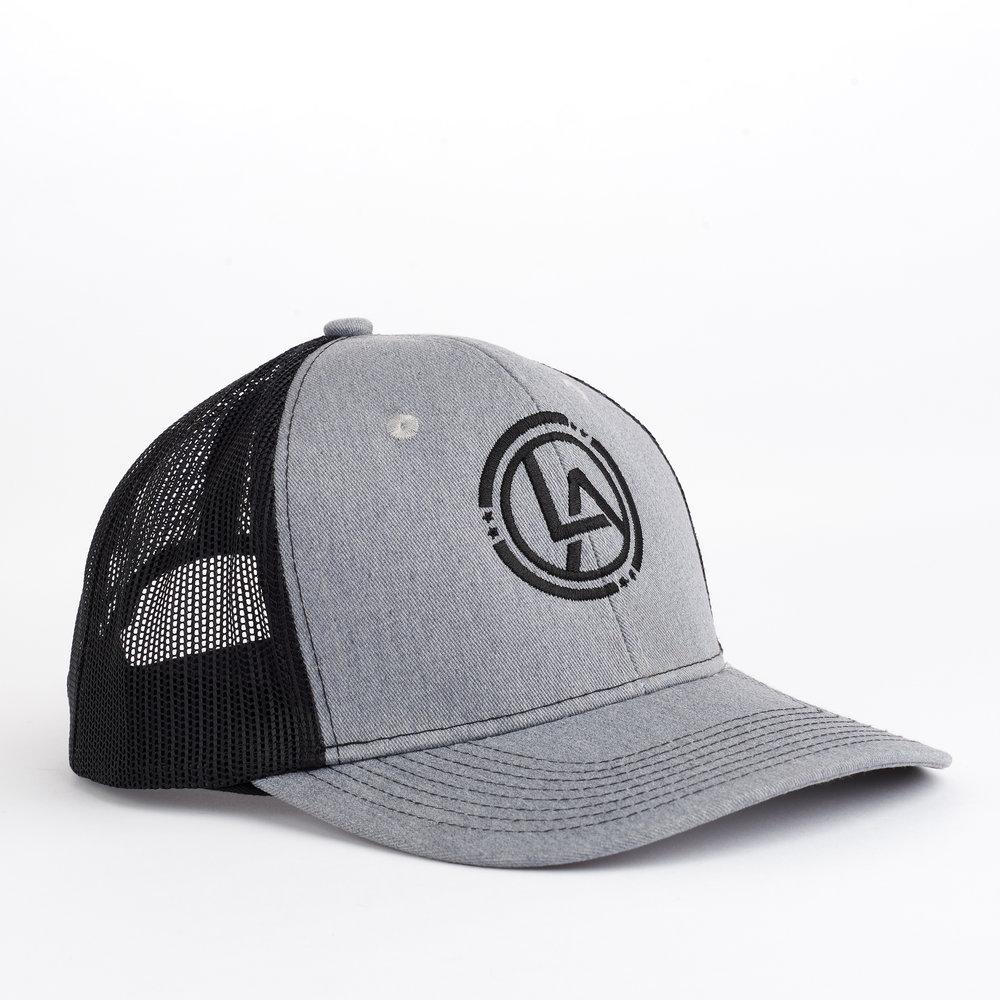 Lyn Avenue Trucker Hat - GryBk.jpg
