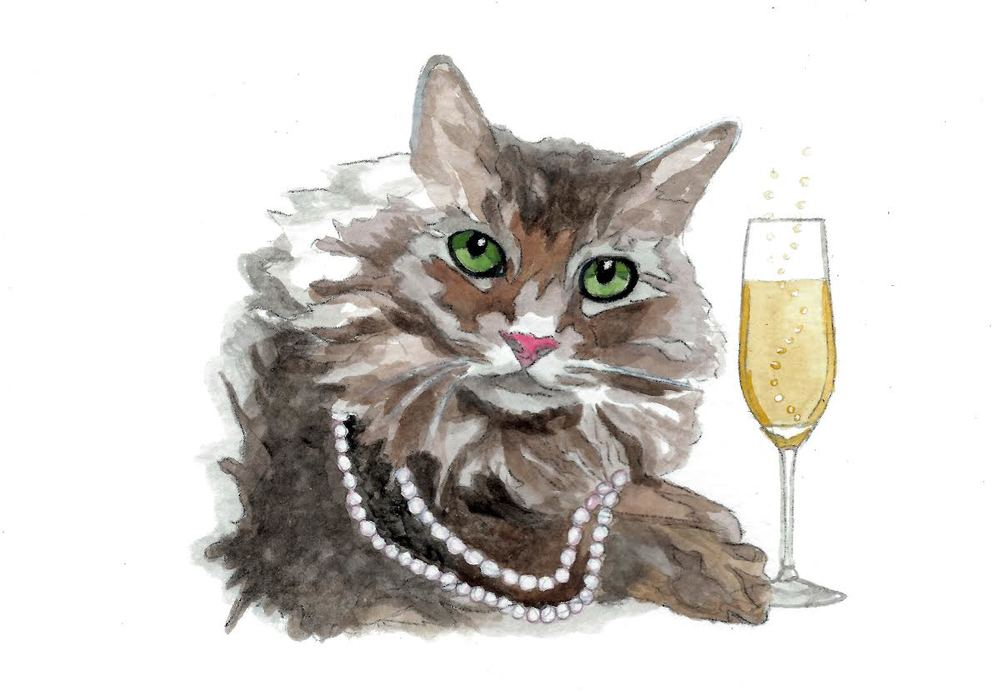 Champagne Kitty