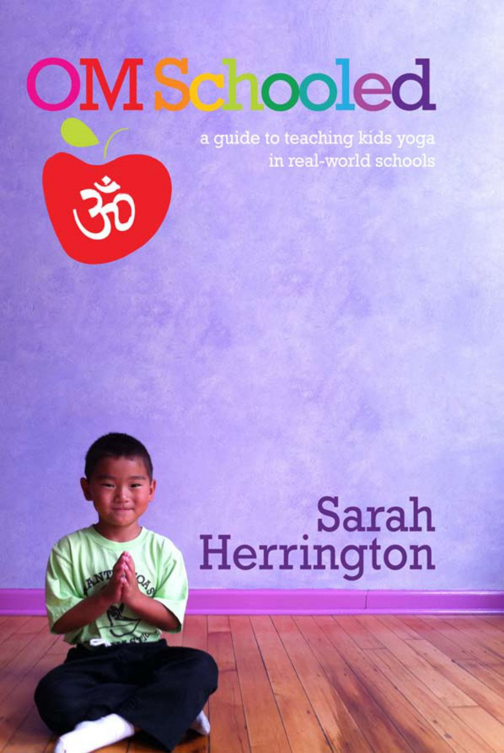 "OM Schooled the Book - ""What a comprehensive, informative, exciting book Ms Herrington has written on yoga for children!  Sarah's intuitive and educational sensitivity to the fight, flight and plight of challenges in the inner city NY schools is a testimonial to her brilliance as a teacher.  Her passion and caring is evident.  She sincerely inspires her students with a combination of learning, enjoying, playing and hope for our next generations to find a road map for the  future … peace, joy, and a new sense of life with yoga in their lives.  Long may she and her students reign in making a difference in the world!""-Marsha Wenig, founder and author of YogaKids ""Om Schooled is an informative and helpful book for anyone who would like to teach yoga to children in the classroom. Reading this book makes me wish yoga were taught to children in all schools everywhere! A wonderful resource.""-Sharon Salzberg, author of Real Happiness ""Om Schooled is the perfect manual for anyone who wants to start teaching yoga to kids.  This is not just a theoretical book—it is a step-by-step manual. Sarah Herrington shares the wisdom she has gained from her day-to-day experiences, for many years, teaching all ages of children yoga in the New York School system.""–Sharon Gannon, co-creator of the Jivamukti Yoga method ""Om Schooled, the book, is a treasure-trove of information for school-based professionals and yoga teachers, across the board.  I love Sarah's eloquent expression of her own personal journey to finding her yoga mat to her unique experience teaching full-time school yoga.  The engaging voice of the author, photos of kids and quotes by children fill the book with love and inspiration ~ truly, not to be missed.""-Jodi Komitor, Founder, Next Generation Yoga"