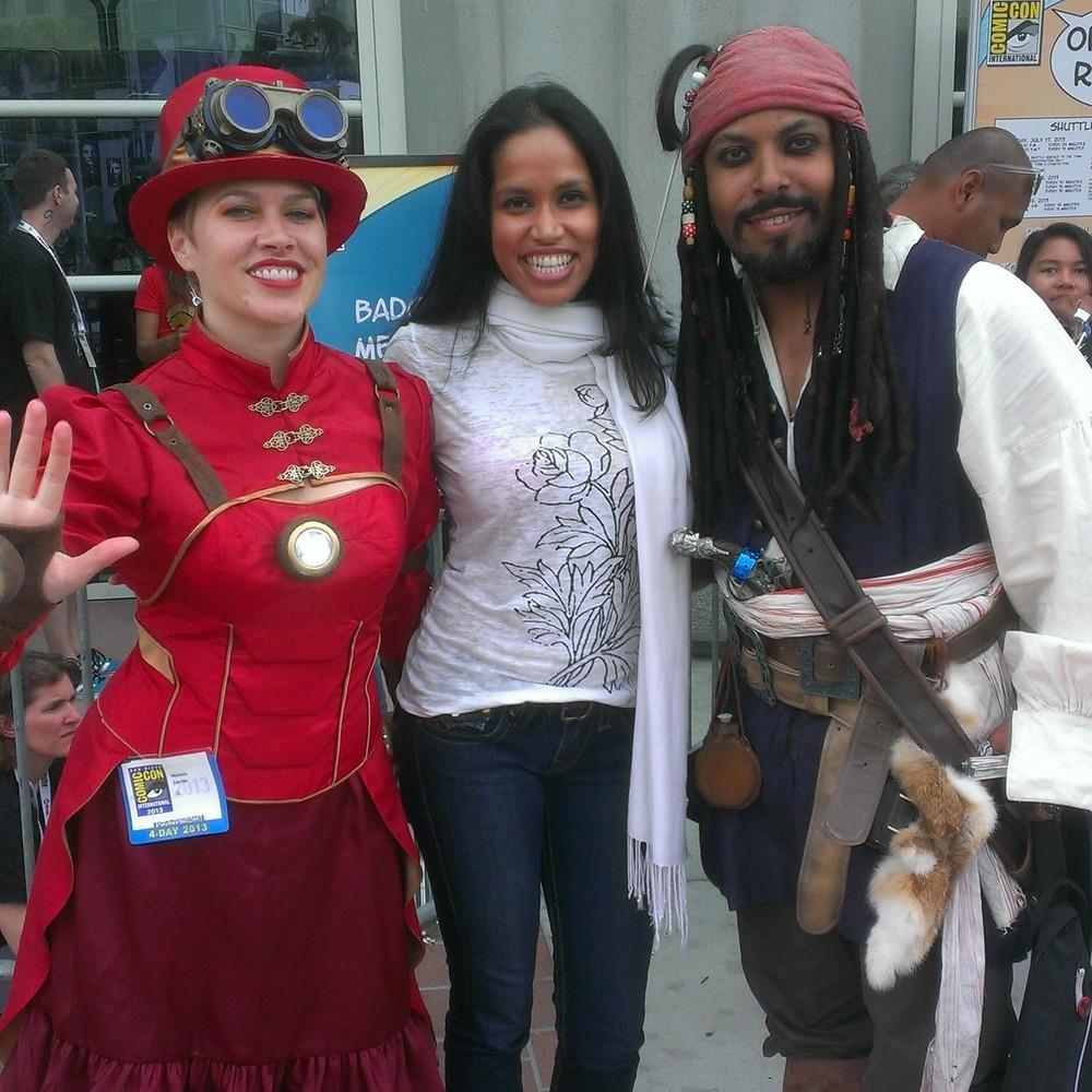 Captain Jack and friends...