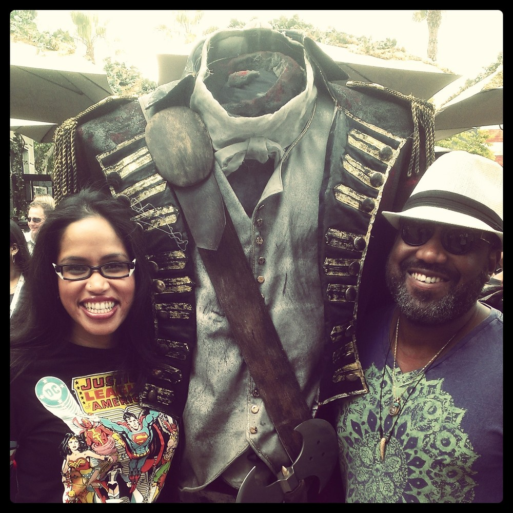 Headless. (And totally geeked!) #SleepyHollow