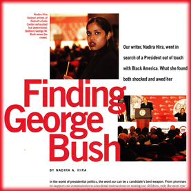 Essence :  Finding George Bush