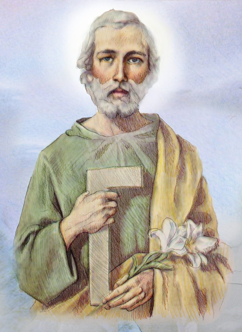 St. Joseph — Lead us to Heaven