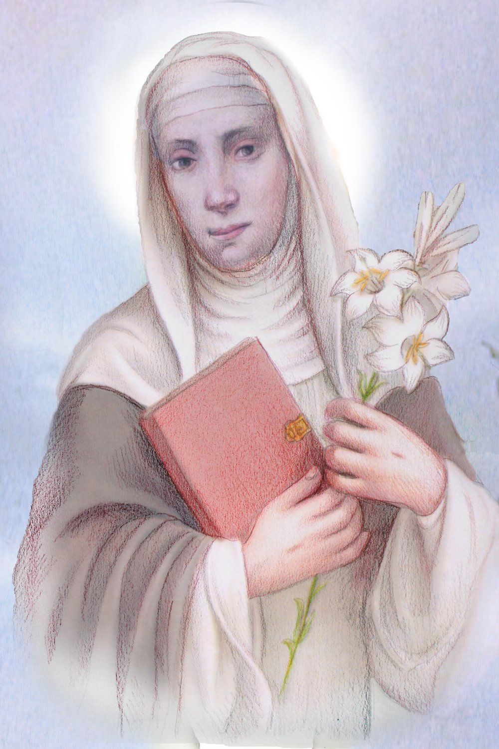 St. Catherine of Siena Copyright @LeadustoHeaven