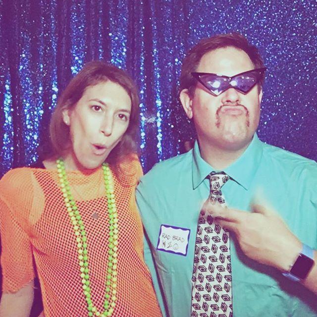 #80sNight #ParentsNightOut #LookingGood @14streetY #Stache (w/@SaraWerner)