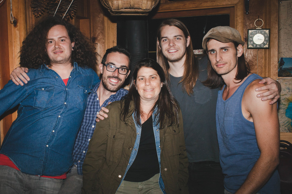 Marcello (shooter), John (co-founder/director/dp), Dana (producer), Simon (dp/editor), Matt (co-founder/director/dp)