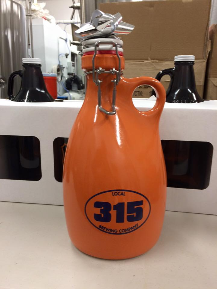 315 Brewing Orange Vessel