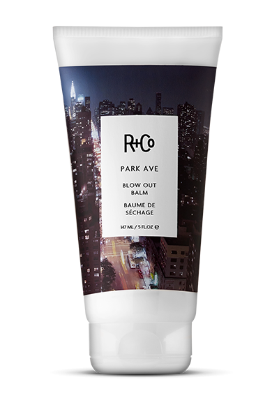 <b>Park Ave</b></br>Blow Out Balm</br><i>For Those of You Who Simply Cannot <br>Bear To Go Without Perfectly </br>Blown-Out Hair</br>$28.</i>