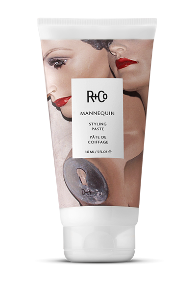 <b>MANNEQUIN</b></br>Styling Paste</br><i>Looking Like You Just Rolled Out Of Bed </br>But Weren't Asleep, Not Even For A Second</br>$28.</i>